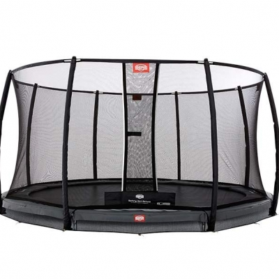 InGround Champion Grey + Safety Net Deluxe